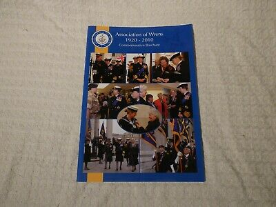 Royal Navy WRNS Association Of Wrens 1920-2010 90th Brochure Programme • 9.99£