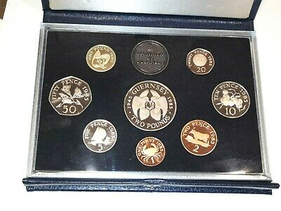 Guernsey,  1985  Proof Set • 14.99£
