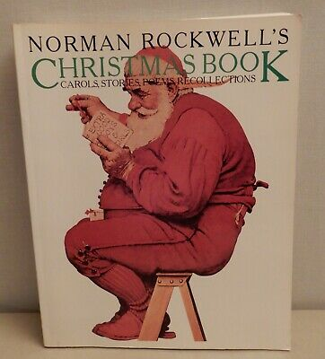 $ CDN2.65 • Buy 1979 Norman Rockwell Christmas Book (Carols, Stories, Poems, Recollections)
