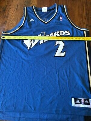 AU20 • Buy NBA Basketball Jersey-- Adidas-- Wall-- Wizards-- 2XL