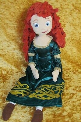 Disney Store Brave ~ MERIDA ~ 20  Soft Plush Toy Doll • 6.95£