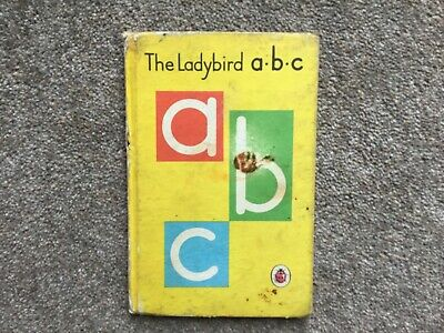 Vintage 'The Ladybird A.b.c' Book. Series 622. 15p Net. Early 1970's • 2.50£