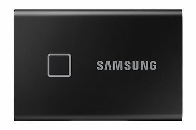 $ CDN408.48 • Buy Samsung Portable SSD T7 Touch MU-PC2T0K Solid State Drive - 2TB NEW IN BOX BLACK