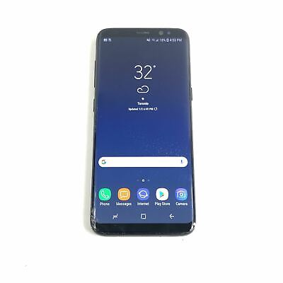 $ CDN187.70 • Buy Samsung Galaxy S8 SM-G950U - 64GB (Unlocked) Android Smartphone Black RE