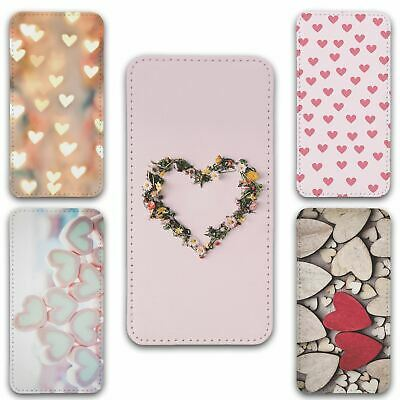 For IPhone 11 Flip Case Cover Hearts Group 1 • 8.50£