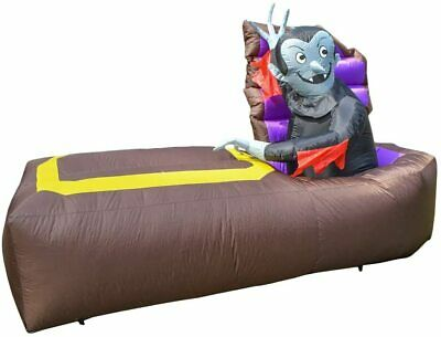 $ CDN69.60 • Buy Halloween Prop Inflatable Dracula Awakes From His Coffin - 5ft H X 7.7ft L