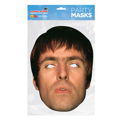 Liam Gallagher OASIS CELEBRITY PARTY MASKS MASK FUNNY STAG CARDBOARD FACE  • 2.99£