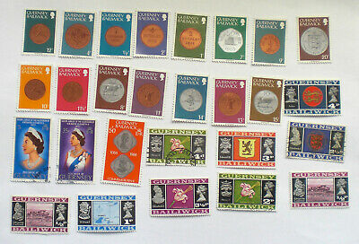 Collection Guernsey Stamps #1 • 0.99£