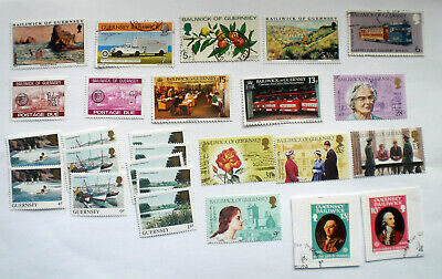 Collection Guernsey Stamps #3 • 0.99£