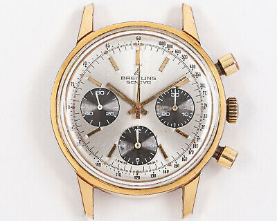 $ CDN2660.13 • Buy INCREDIBLE Vintage Breitling Gold Plated 815 Chronograph W/ Valjoux 7736