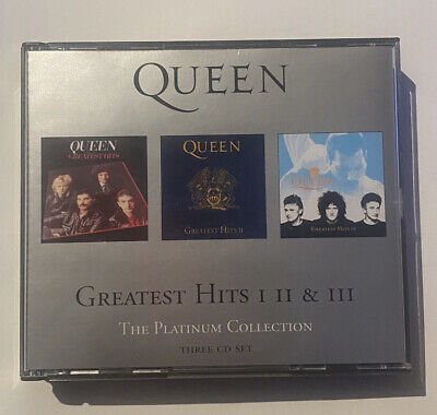 Queen The Platinum Collection Greatest Hits Three Cd Set 3CD 2000 Press • 5£