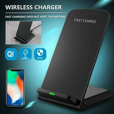 AU16.57 • Buy 15W Fast Qi Wireless Charger Dock Stand For IPhone 11 XS 8 XR Samsung S20 S10 AU