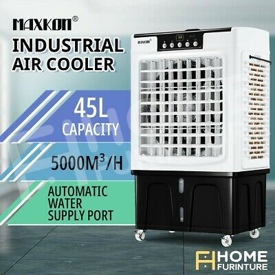 AU259.49 • Buy Maxkon Industrial Evaporative Air Cooler Portable Air Conditioner  W/Remote 45L