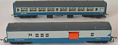 £24 • Buy (1267) 1 HORNBY INTERCITY Coach & 1 ROYAL MAIL COACH PRE-OWNED BOXED