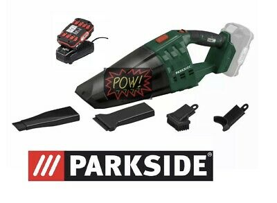 Parkside Vacuum Cleaner 20v Cordless Hand Held. With Battery And Charger 2Ah • 49.95£
