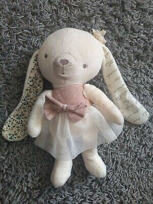 Mamas And Papas Millie Bunny Rabbit Soft Toy Plush Comforter Soother 10  VGC  • 18.95£