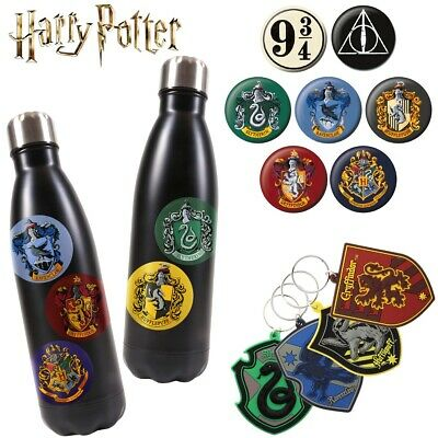 OFFICIAL HARRY POTTER Vinyl Stickers Keyring Button Pin Badge Decorative Gift UK • 3.65£
