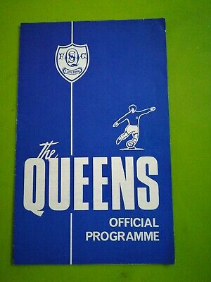 Queen Of The South V Dumbarton Scottish LG Cup Football Programme. 3.9.1966 • 1.20£