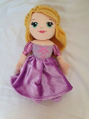 Rare Disney Princess Rapunzel 9  Inch Plush Doll Tangled Soft Toy • 6£