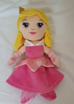 POSH PAWS DISNEY SLEEPING BEAUTY PRINCESS AURORA SOFT TOY DOLL PLUSH 9  Inch • 6£