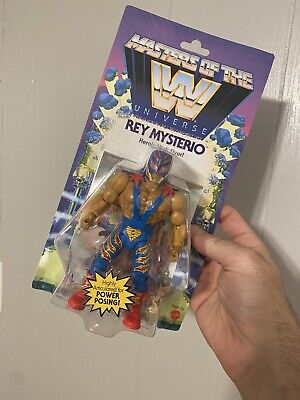 $20 • Buy New Masters Of The WWE Universe Rey Mysterio Action Figure MOTU Free Shipping