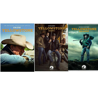 AU35.66 • Buy Yellowstone Season 1-3 DVD Complete Series 1 2 3 Season 3 Brand New Region 1