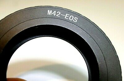 $19.94 • Buy M42 Pentax Screw Metal Lens To Canon EOS EF Camera Mount Adapter Ring EF-S T7i