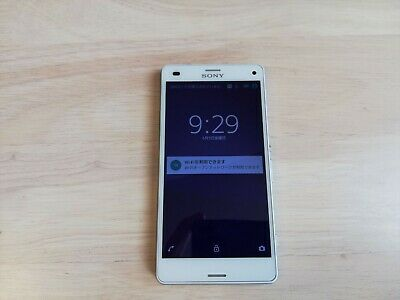 $ CDN85.42 • Buy 【Unlocked 】SONY XPERIA Z3 Compact 16GB White SO-02G Android -Smartphone-