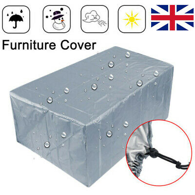 Large Outdoor Cover Garden Furniture Waterproof Patio Rattan Table Cube Set UK • 14.82£
