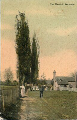 THE MEAD, WANTAGE  OLD  POSTCARD, Posted 1909 • 1.88£