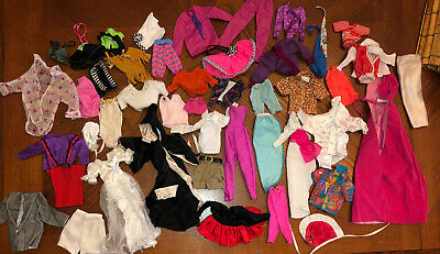 $ CDN17.99 • Buy Huge Lot Of Vintage 80's Barbie Doll Clothes Barbie, Ken, Skipper