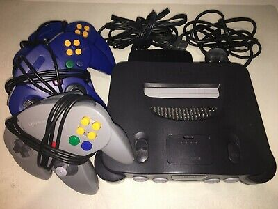 AU250 • Buy Nintendo 64 With Original Controller + 2 Extra Controllers + 2 Star Wars Games