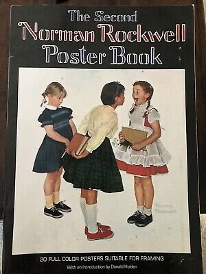 $ CDN13.18 • Buy The Second Norman Rockwell 20 Poster Book By Norman Rockwell 1st Printing 1977