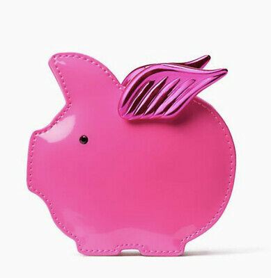 $ CDN35 • Buy Kate Spade Pig Pigs Fly Wallet Coin Purse Hot Patent Pink