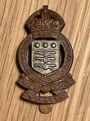 ROYAL ARMY ORDNANCE CORPS RAOC Genuine KC B/M Maker Marked GLADMAN & NORMAN • 4.99£