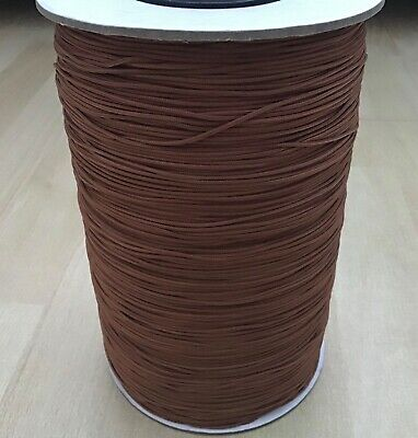 BROWN  BLIND CORD STRING VENETIAN/ CURTAIN /FESTOON STRONG (Good Quality) • 2.85£