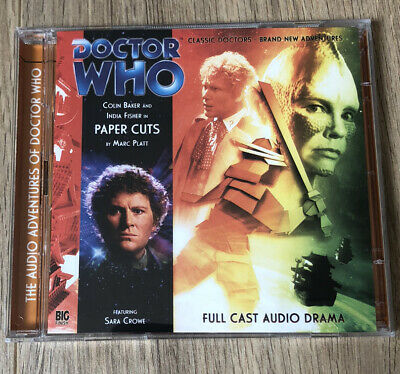 Doctor Who - Paper Cuts (Big Finish CD) Colin Baker • 4.99£