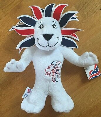 TEAM GB Official London Olympics 2012 Pride The Lion Brand New With Tags. • 3.99£