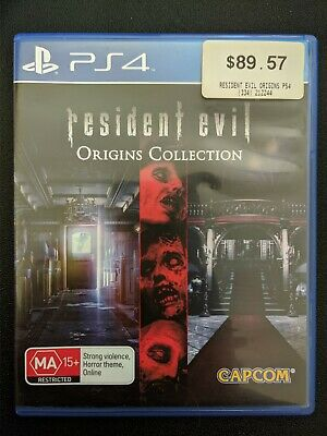 AU25 • Buy Resident Evil Origins Collection PS4 PlayStation 4 Game Like New