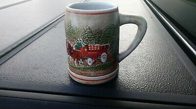$ CDN13.17 • Buy 1980 Budweiser Champion Clydesdales Beer Stein Rare A&eagle On Bottom