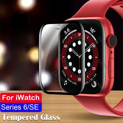 $ CDN3.38 • Buy For Apple Watch IWatch Series 6 SE 40/44mm 3D Curved Edge Glass Screen Protector
