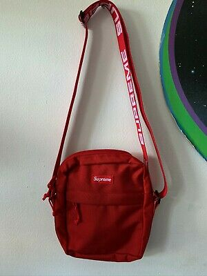 $ CDN93.86 • Buy SS18 Supreme Red Shoulder Bag DS 100% Authentic.