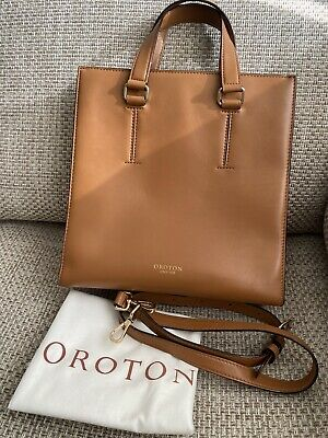 AU62 • Buy Oroton Leather Bag - Used Twice - Excellent Condition - Caramel Brown