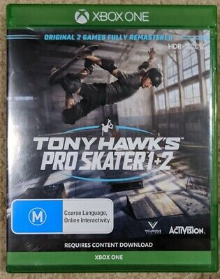 AU35 • Buy Tony Hawk's Pro Skater 1 + 2 Remastered XBOX One