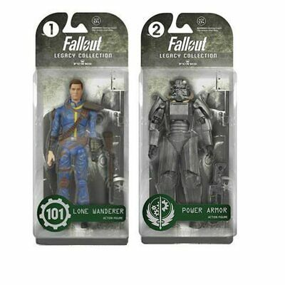 FALLOUT 4 LONE WANDERER Figure Toys POWER ARMOR Model Action Figure Boy Toy Gift • 14.43£