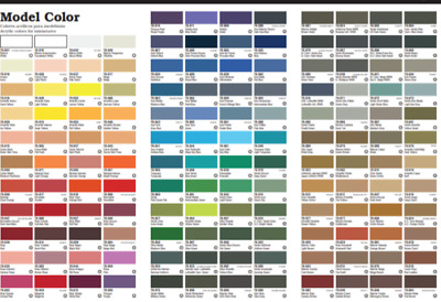 Vallejo Model Color Paints Choose From Full Range Of 17ml Acrylics • 2.60£