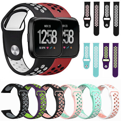$ CDN4.79 • Buy Wrist Watch Band Smart Bracelet Silicone TPU Replacement Strap For Fitbit Versa