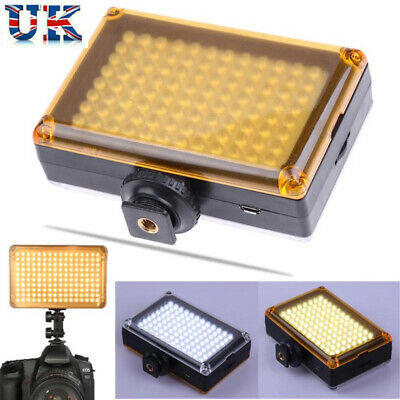 DSLR Camera Camcorder 96LEDs Video Light Lamp Lighting Panel For Canon Nikon UK • 13.95£