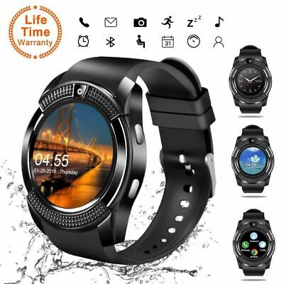 AU17.99 • Buy V8-Bluetooth Smart Watch Waterproof SIM Camera Wrist Watches Kids For Android