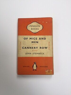 'Of Mice And Men & Cannery Row' By John Steinbeck (Penguin, 1951)  • 5£